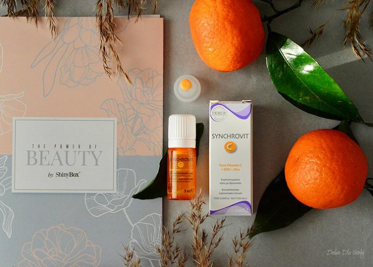 ShinyBox The Power of Beauty - Synchroline Synchrovit C Skoncentrowane serum liposomowe z witaminą C