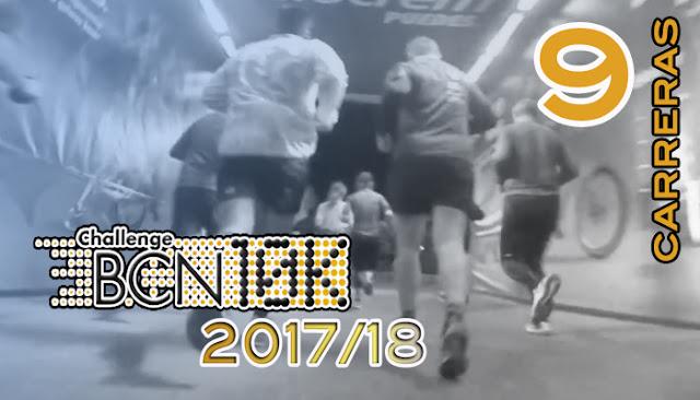 ChallengeBCN10k 2017/18 - 9 carreras