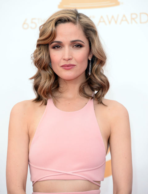 Rose Byrne's Ribbon Highlights Latest Hairstyle