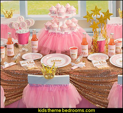 Pink Provincial Princess Party Supplies
