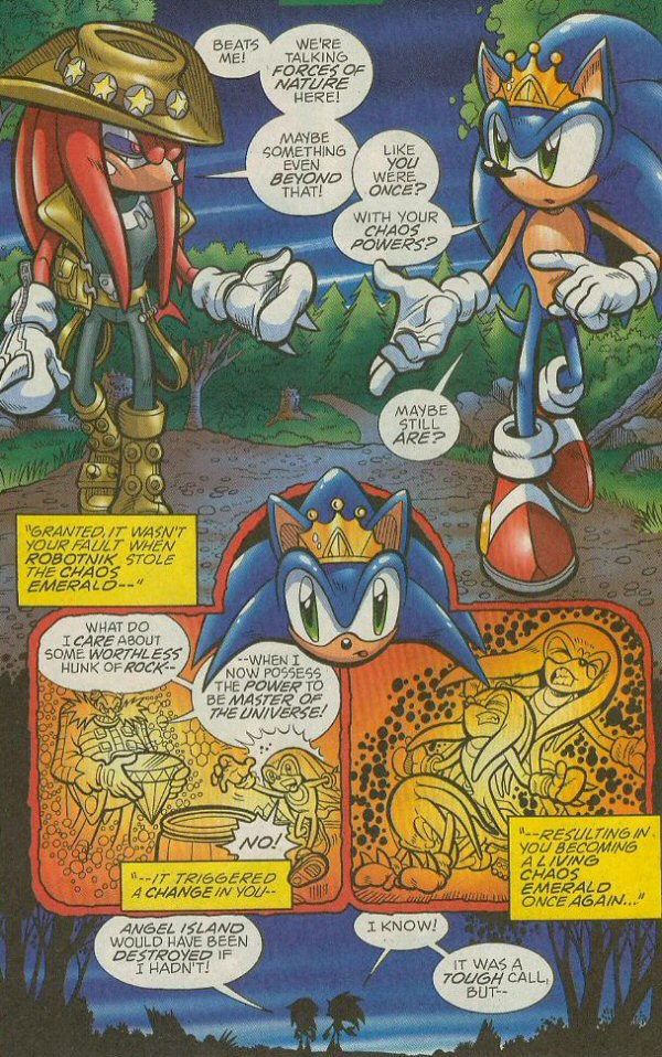 Read online Sonic The Hedgehog comic -  Issue #140 - 21