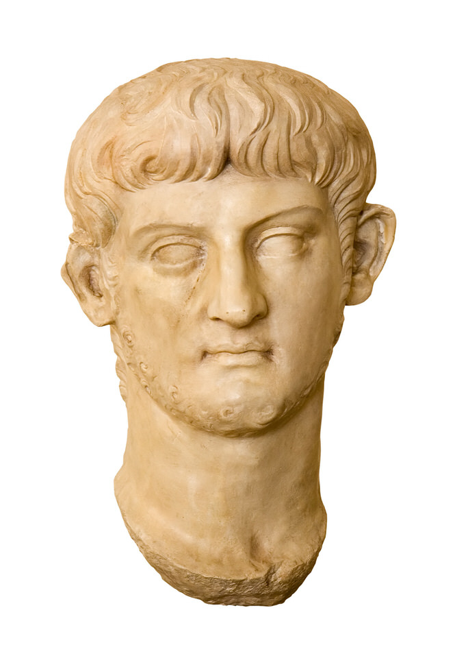 Ο αυτοκράτορας Νέρων Κλαύδιος Καίσαρ Αύγουστος Γερμανικός (AD 37-68).