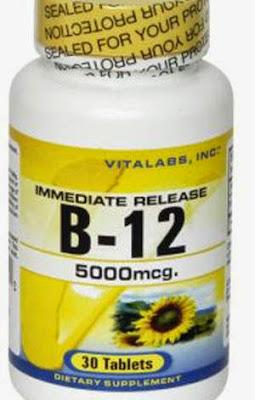 Không dùng vitamin B12 khi bị ung thư