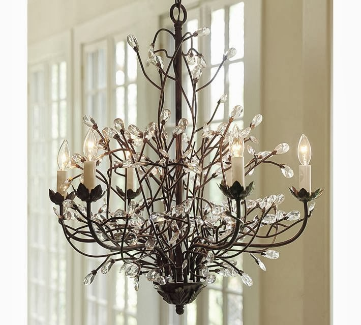 Pottery Barn Isabelle Chandelier: Pottery Barn Knock Off Lighting