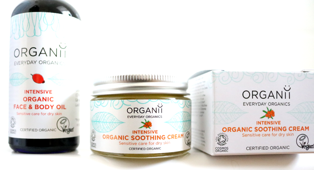 Organii Intensive Organic Face & Body Oil and Soothing Cream review