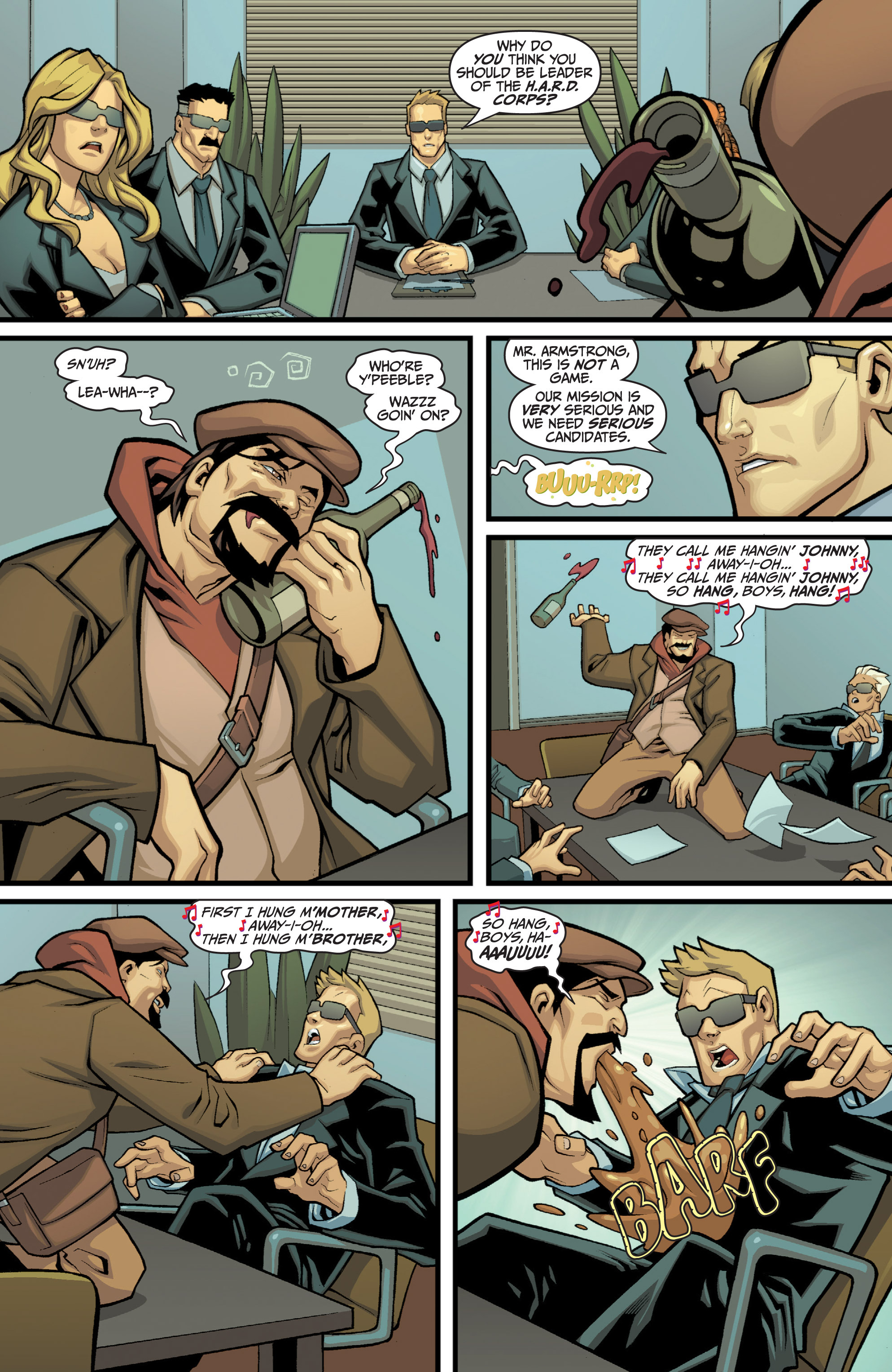 Read online Bloodshot and H.A.R.D.Corps comic -  Issue # TPB 4 - 136