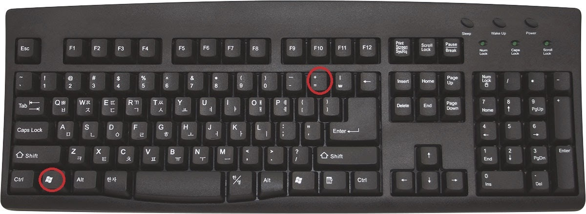 e11b899553 Learn New Things: Windows Shortcut Key: How to Zoom IN and Zoom OUT ...