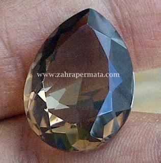 Batu Permata Smoky Quartz - ZP 309