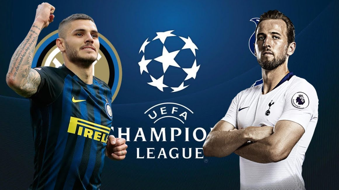 Dove Vedere TOTTENHAM INTER Streaming di Champions League