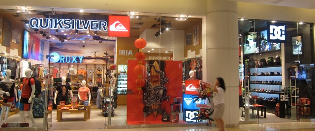 Surfing In Malaysia: Quiksilver Opens New Store in West