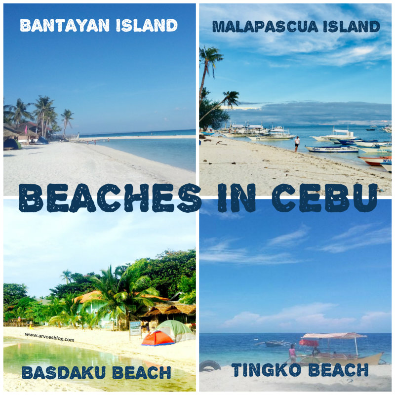 Beaches In Cebu North South West East