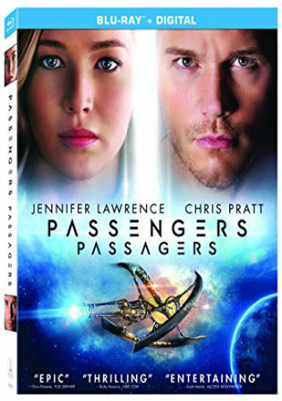 Passengers 2016 Hindi 900MB Dual Audio ORG 720p BluRay