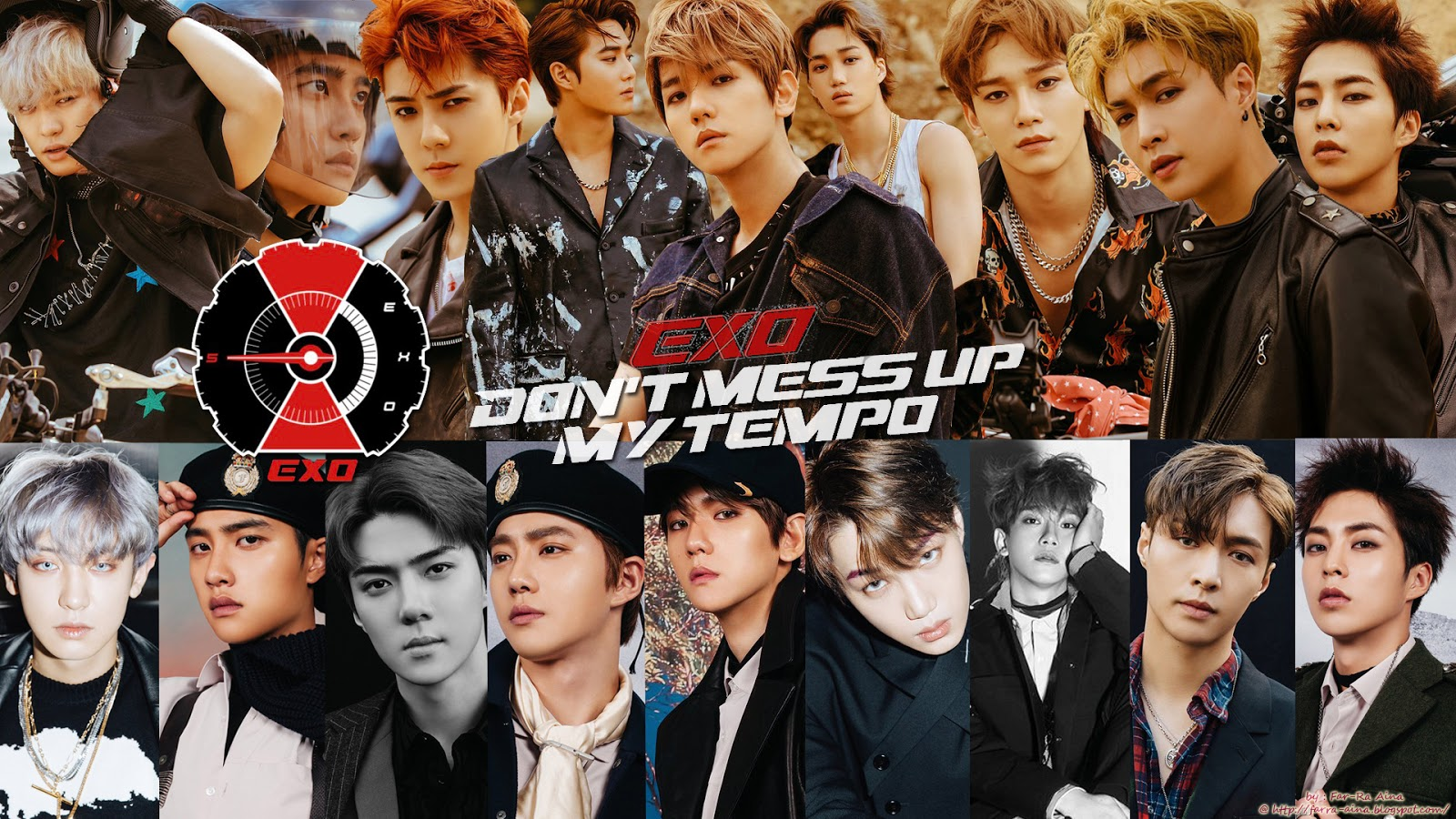 K Pop Lover Exo Don T Mess Up My Tempo Wallpaper