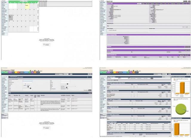 FreeCRM Software Gratis Online