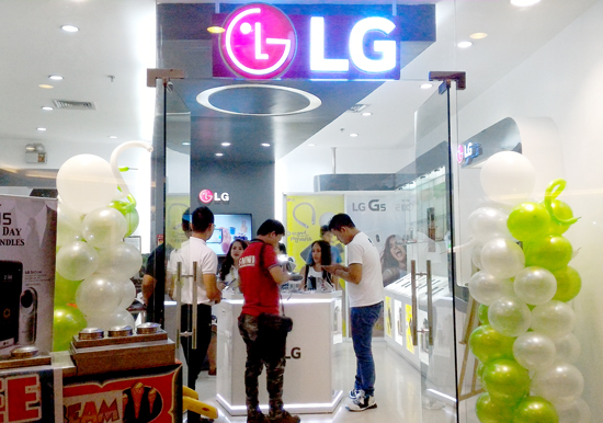 THE ALL-NEW LG CONCEPT STORE RE-OPEN IN GAISANO MALL DAVAO