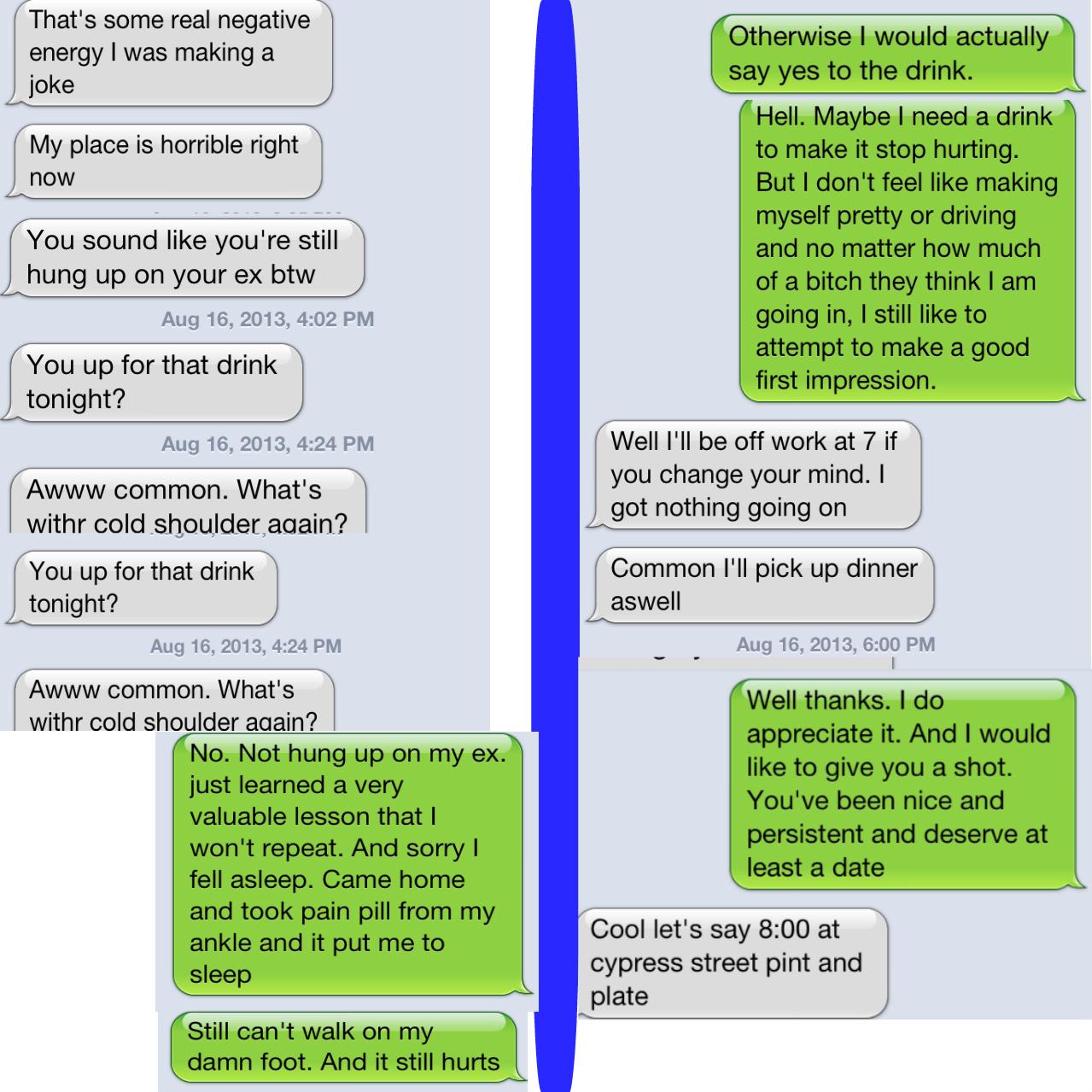 Guy online being too pushy - GirlsAskGuys