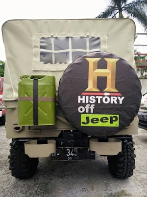 Cover sarung ban jeep willys