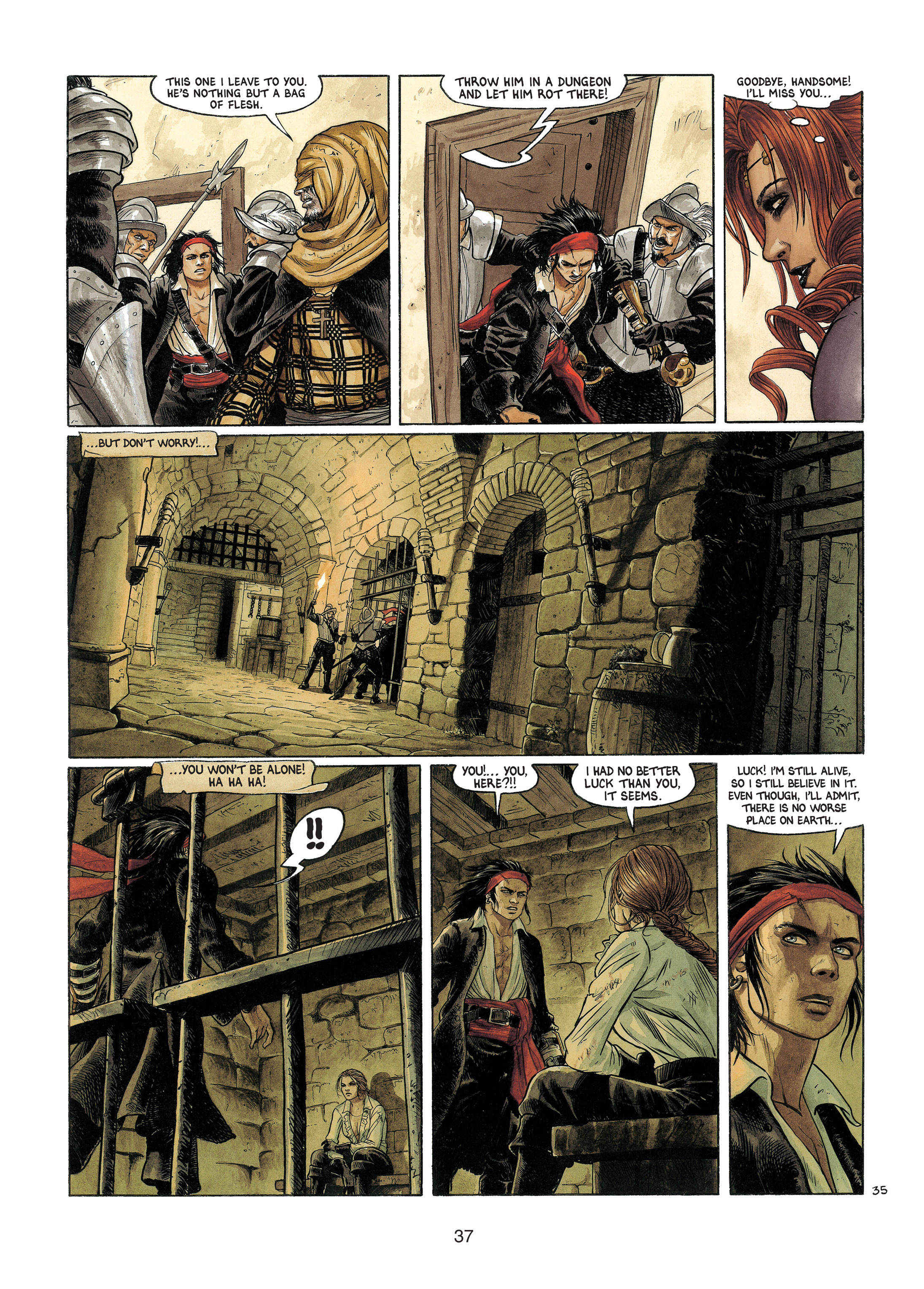 Read online Barracuda comic -  Issue #4 - 38