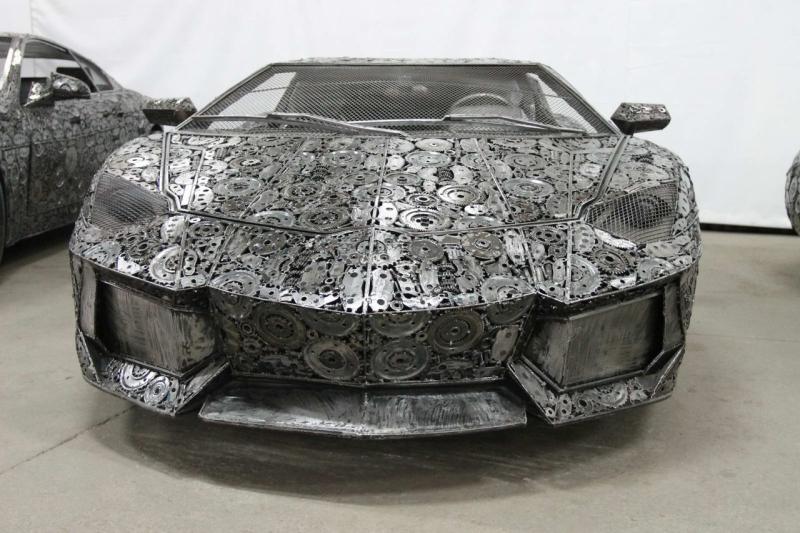 supercars From scrap metal
