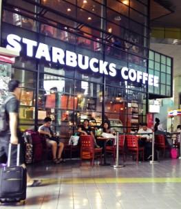 Starbucks - Stasiun Gambir - Jakarta