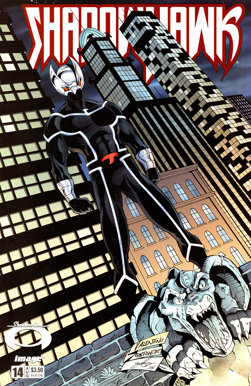Read online ShadowHawk (2005) comic -  Issue #14 - 1