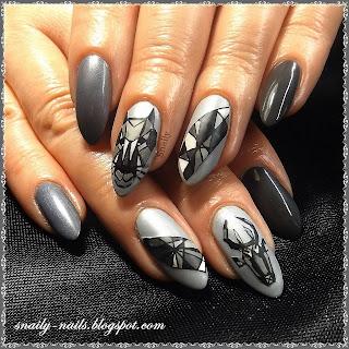 http://snaily-nails.blogspot.com/2017/03/geometryczna-zoologia.html