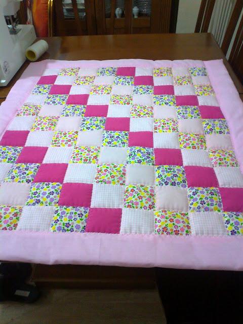 patchwork bebek örtüsü