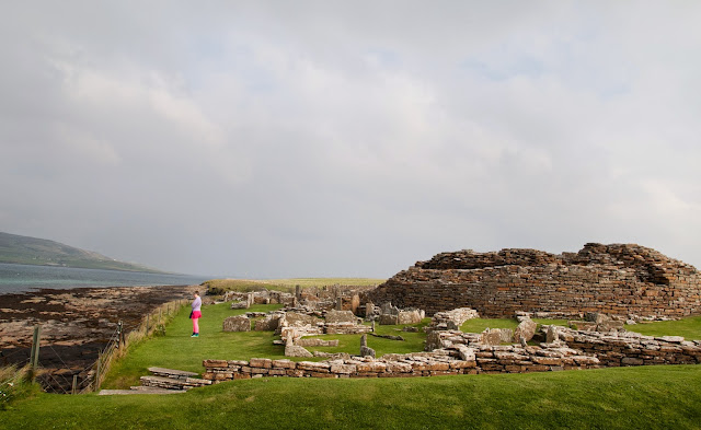 Broch of Gurness; Orkney, Scotia