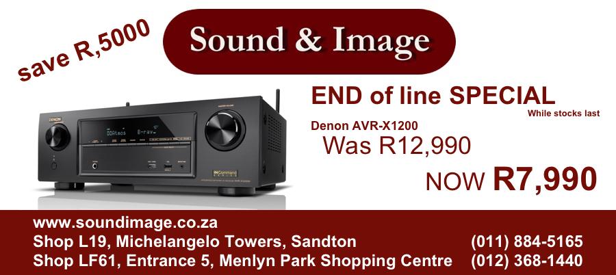 News: Promotion - Denon AVR - X1200W - 7 2 Channel Network