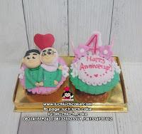 Cupcake Romantis isi 2 Biji