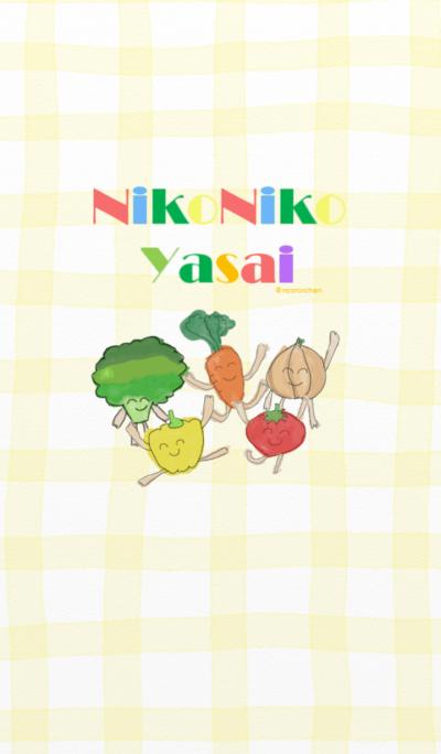 nikoniko yasai no kisekae