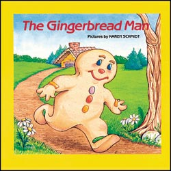 Cover image of The Gingerbread Man book.