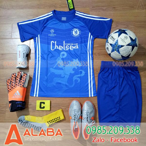 Áo Đá Bóng CLB Chelsea 2019 Xanh Dương
