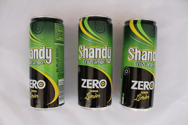 cerveza shandy cruzcampo zero limon