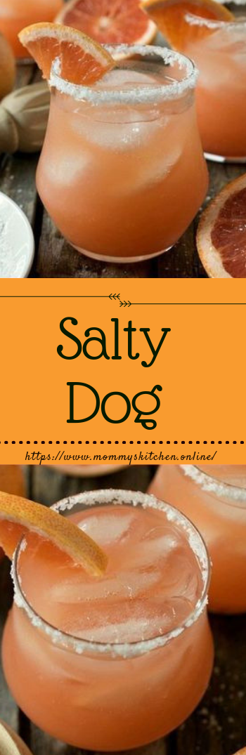 Salty Dog #cocktailrecipe #drinks