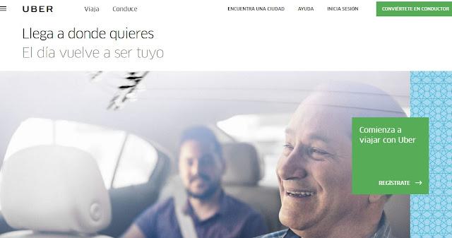 Uber.com y sus codigos promocionales de primer viaje gratis volver a usar