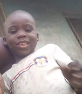 Photo: 4-year-old boy kidnapped in Zuba, Abuja