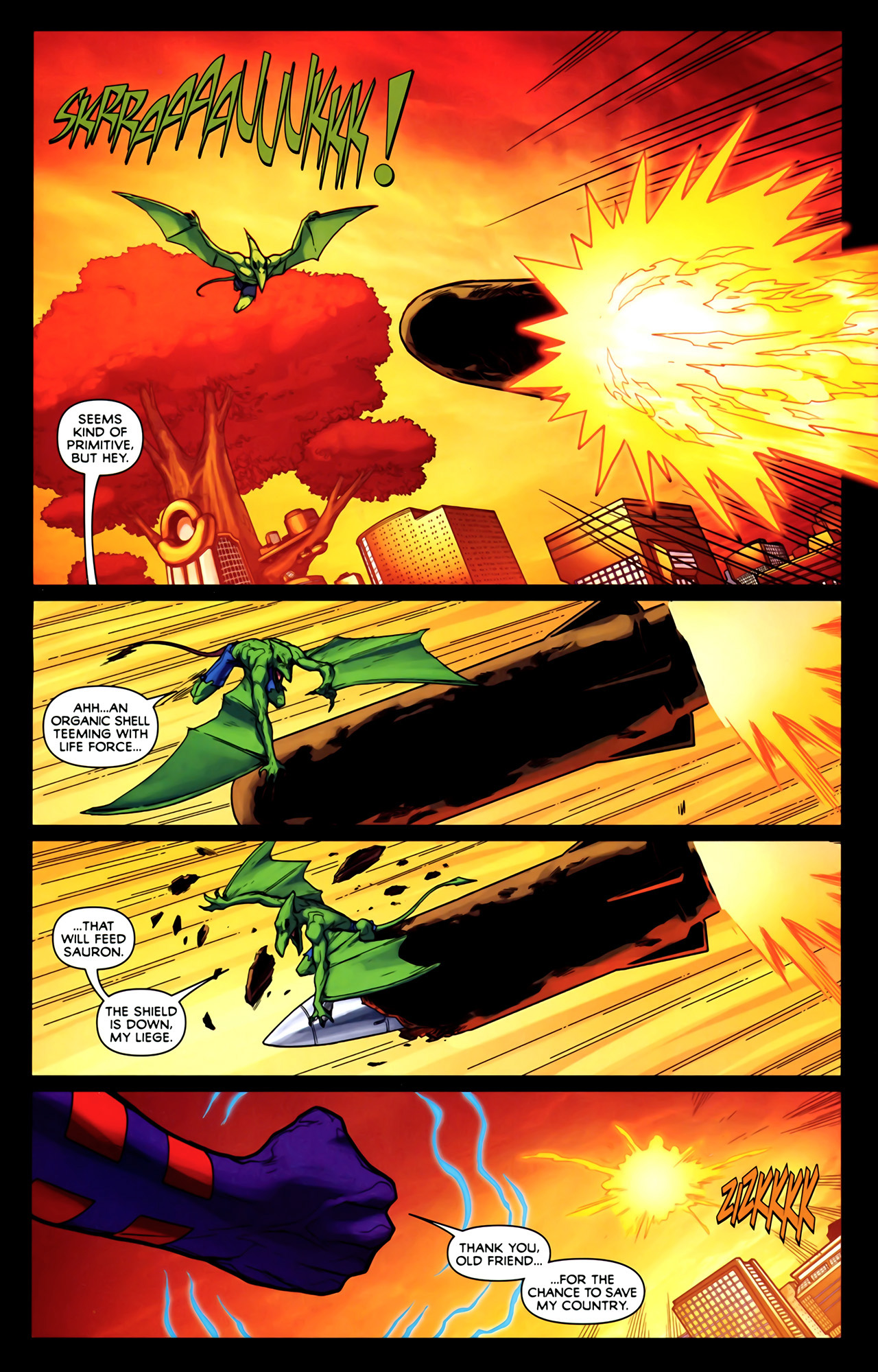 Read online Exiles (2009) comic -  Issue #2 - 6