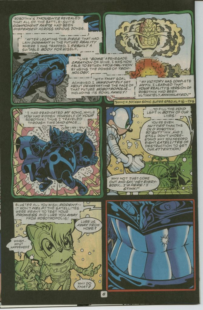 Read online Sonic The Hedgehog comic -  Issue #75 - 8