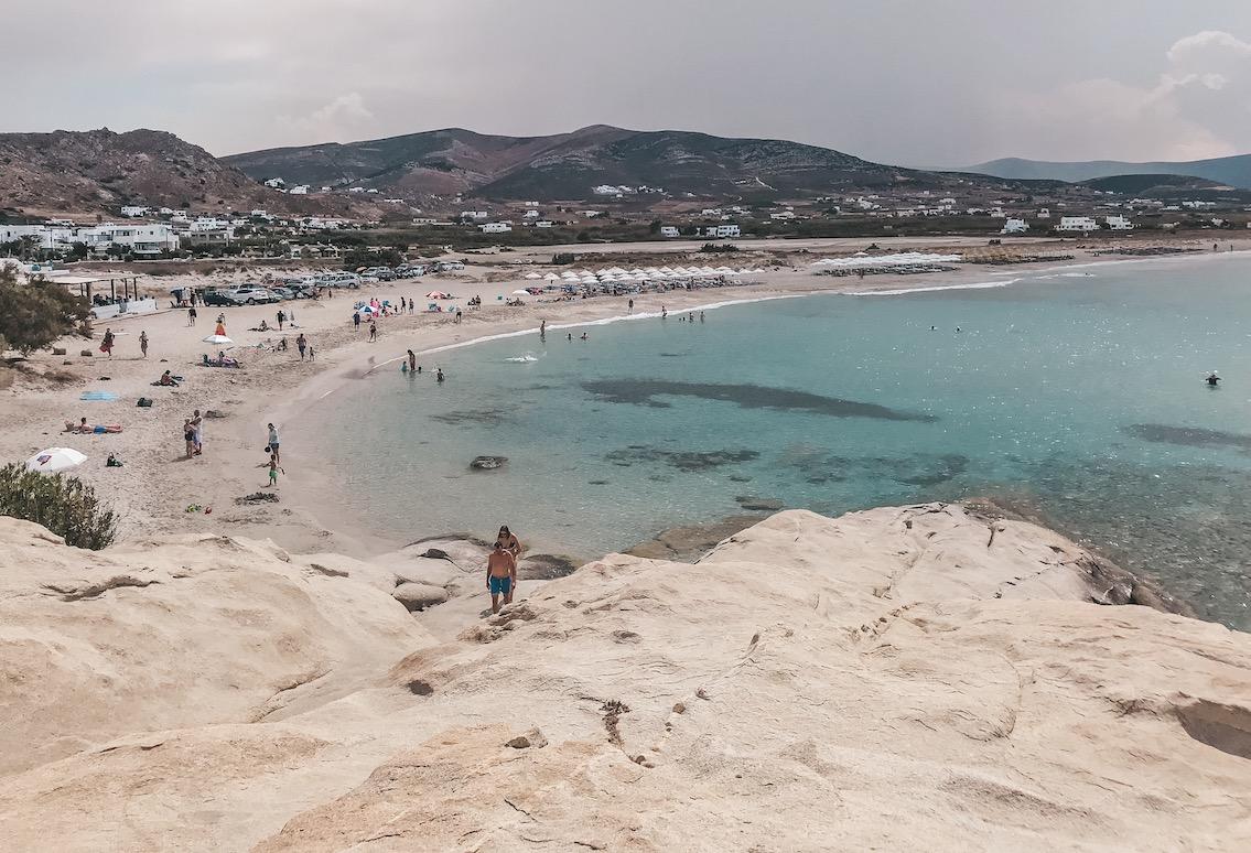 Naxos Travel Diary Reise Tipps Schönste Orte Schönste Strände der Insel Mikri Viglia Beach Strand