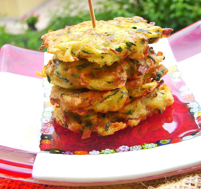 buñuelos receta calabacín patatas alimentacion saludable cocina light recetas niños baja en carbohidratos