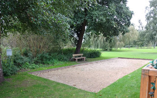 The Petanque Terrain at Beacon Park in Lichfield
