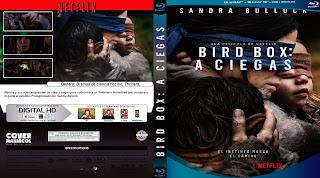 CARATULA BLURAY bird box a ciegas 2018 [COVER DVD BLURAY ]