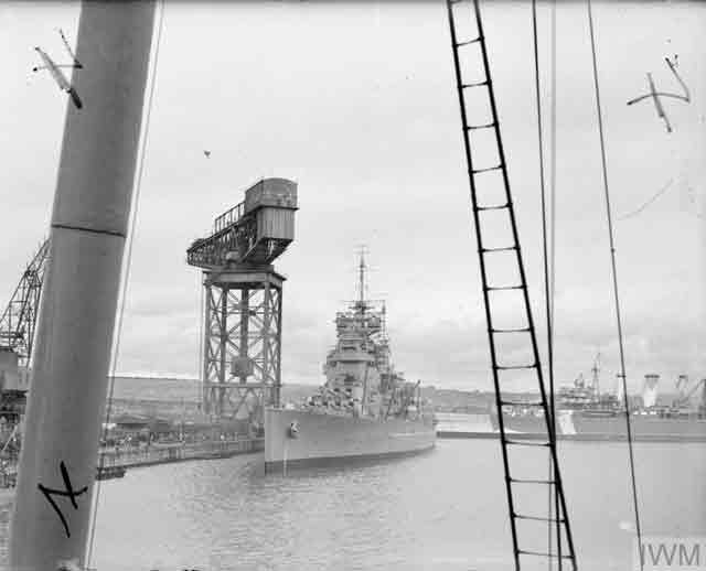 HMS Duke of York 17 October 1941 worldwartwo.filminspector.com