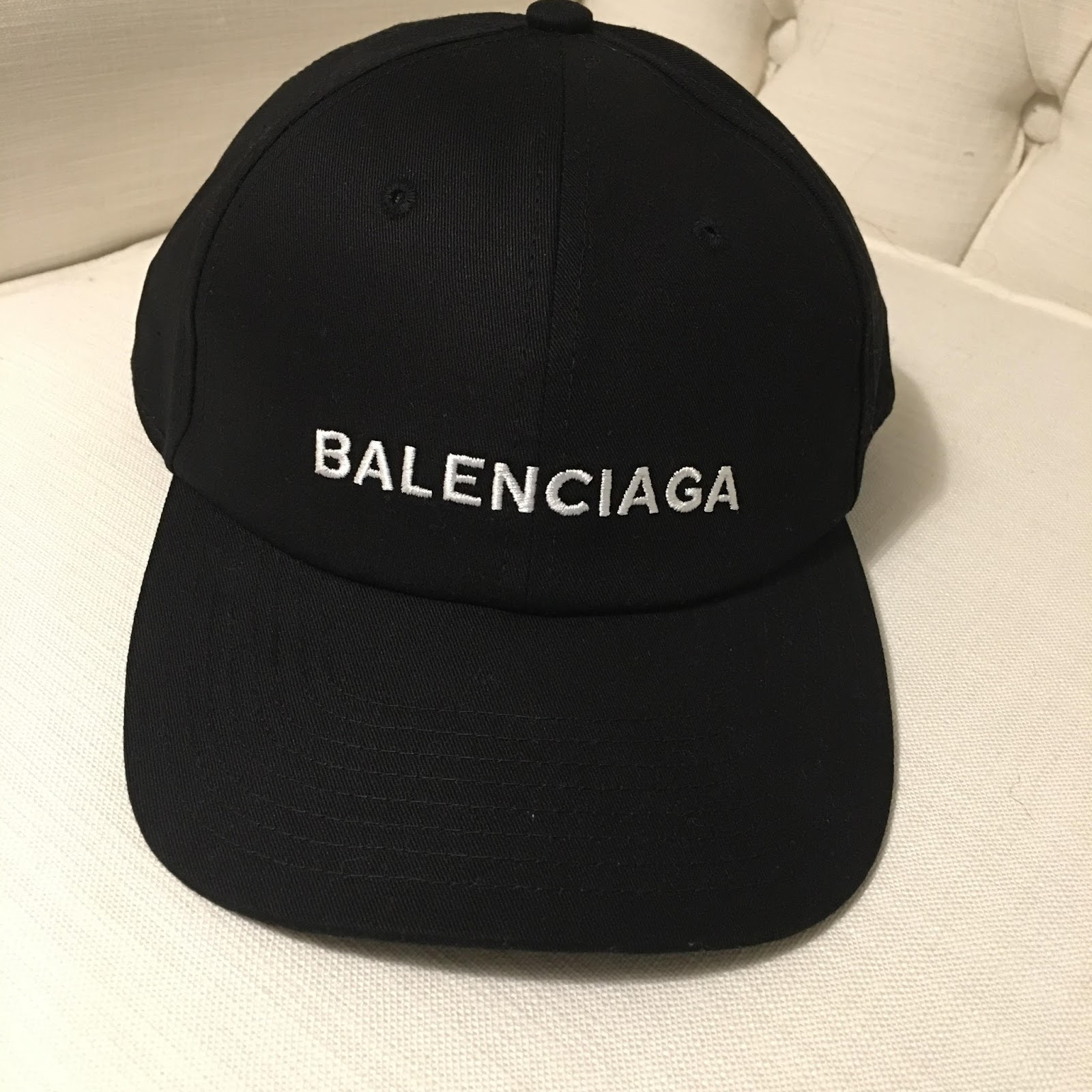 Balenciaga Logo Baseball Cap SS17 Black (Reondistrict) 37d41effa4d
