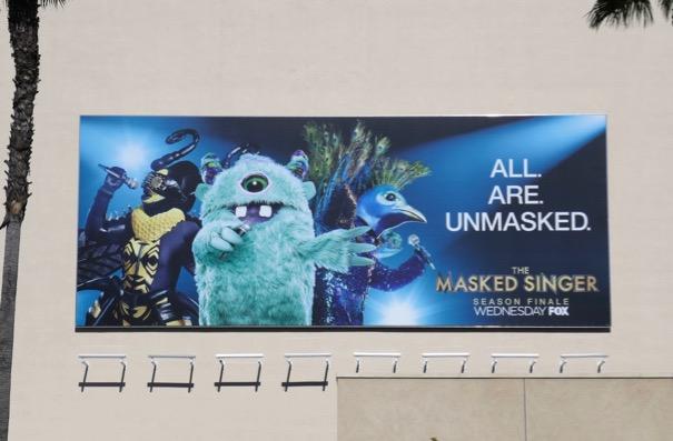 Masked Singer season 1 finale billboard