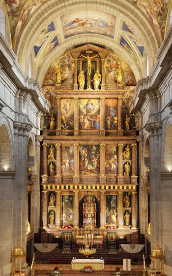 Retablo Mayor de San Lorenzo de El Escorial, Madrid