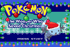 Pokemon The Wooper Who Saved Christmas ROM Download - GBAHacks