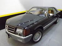Mercedes Benz 560 SEC - Revell 1/24