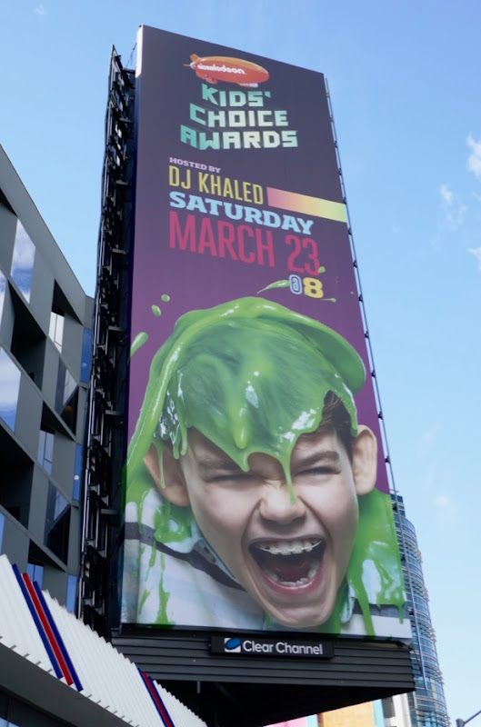 2019 Nickelodeon Kids Choice Awards billboard